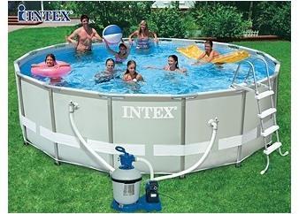 Kit piscine tubulaire Intex