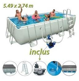 Piscine tubulaire Intex 549
