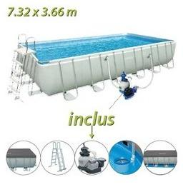 Piscine tubulaire Intex 732