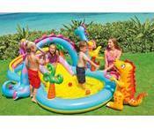 Aire de jeux aquatique avec