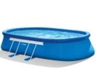 Concept kit piscine autoportante best way fast set pool for Piscine ovale intex 6 10 x 3 66 x1 22m