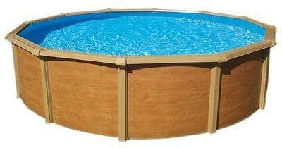 Catgorie piscine page 2 du guide et comparateur d 39 achat for Piscine hors sol metal aspect bois