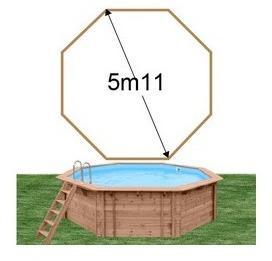 Catgorie piscine page 5 du guide et comparateur d 39 achat for Prix liner piscine bois octogonale