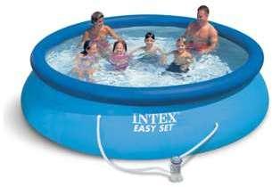 Intex tubulaire rectangulaire 457x274x122m - Filtration piscine hors sol intex ...