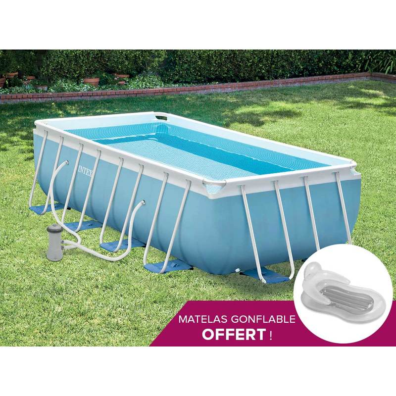 Catgorie piscine page 4 du guide et comparateur d 39 achat for Auchan piscine tubulaire