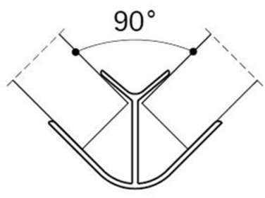 Jonction d angle 90 - VOLPATO