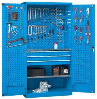 Armoire d atelier avec panneaux