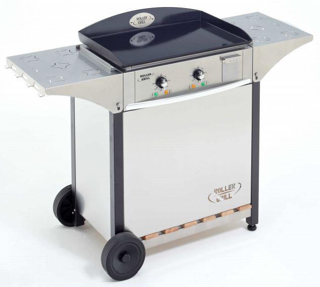 Roller grill plancha pro gaz psr900gec grill for Plancha electrique exterieur sur pied