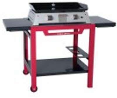 Table roulante bicolore Forge