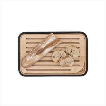 Planche à pain en bambou noir