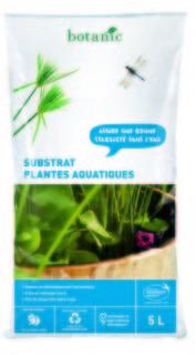 Substrat plantes aquatiques
