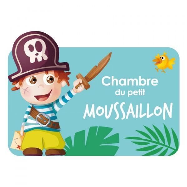 Plaque de Porte Moussaillon