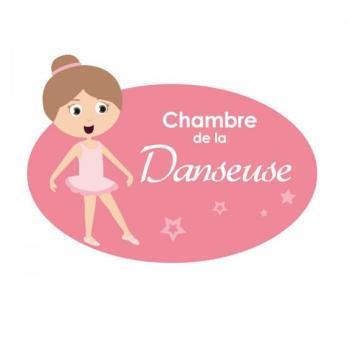 Plaque de porte Danseuse