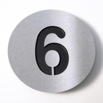 Radius - Numéro 6 - inox noir