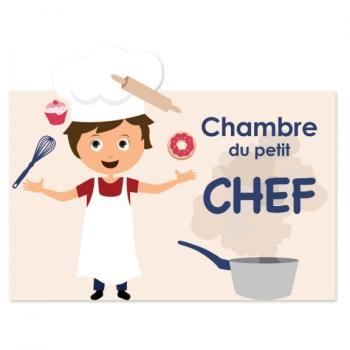 Plaque de porte Cuisinier