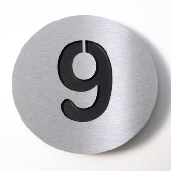 Radius - Numéro 9 - inox noir