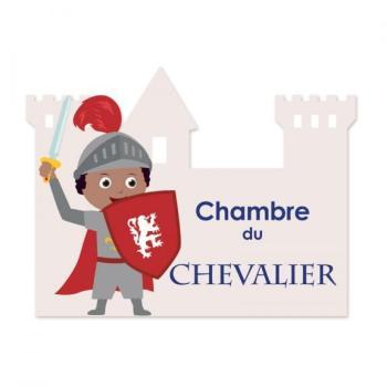Plaque de porte Chevalier
