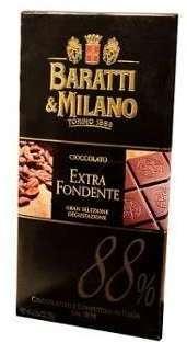TABLETTE CHOCOLAT NOIR 88