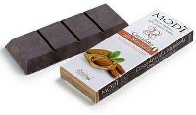 CHOCOLAT DE MODICA AUX AMANDES