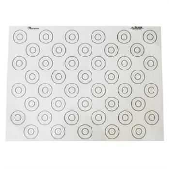 Tapis silicone spécial macarons