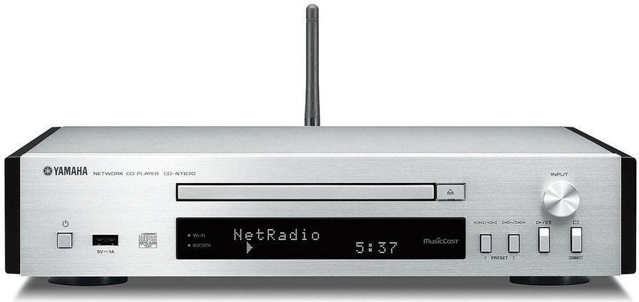 Yamaha CD-NT670 Argent