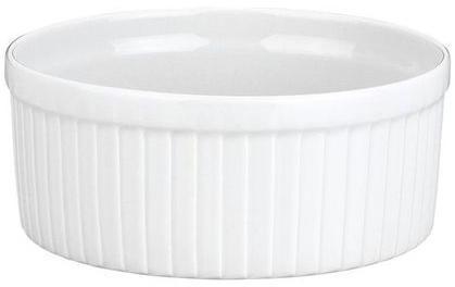 Moule à soufflé blanc 125cl