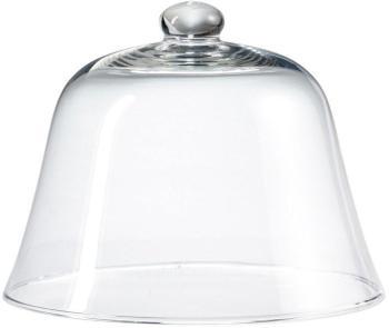 Cloche en verre H 22xD 26