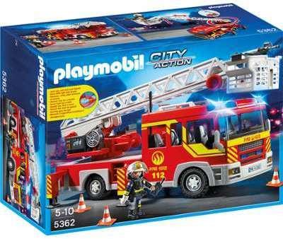 auchan camion pompier