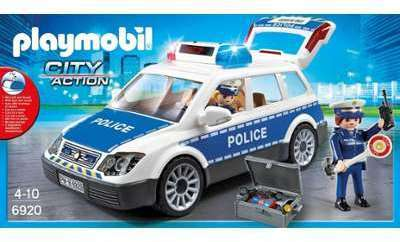 ambulance avec gyrophare playmobil