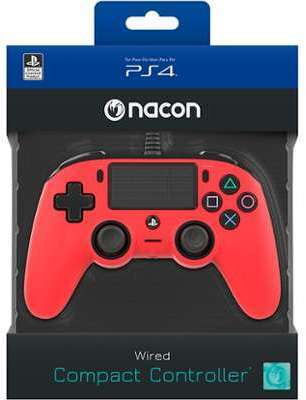 Manette filaire NACON rouge
