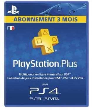 Abonnement Playstation Plus