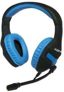 Micro-casque Konix bleu pour