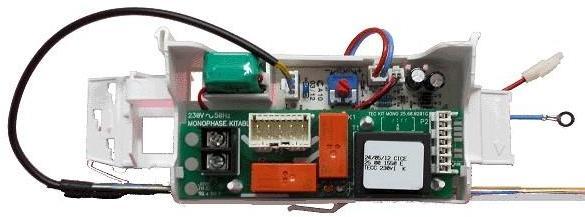 Ensemble thermostat electronique