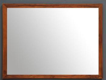 Miroir salle de bain teck