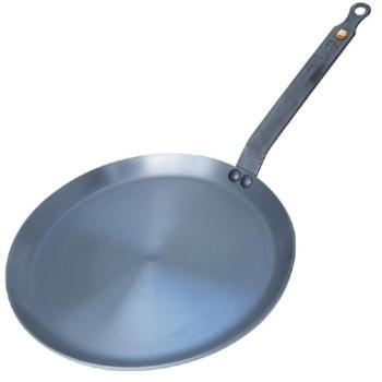 Poêle à crêpes en fer noir