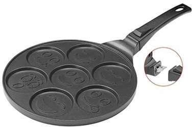 Poêle à blinis et pancakes