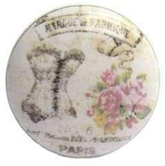 Bouton de meuble Marque de