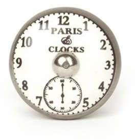 Bouton de meuble Horloge de