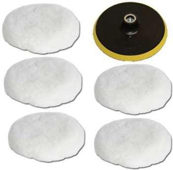 5 Peaux de polissage disque
