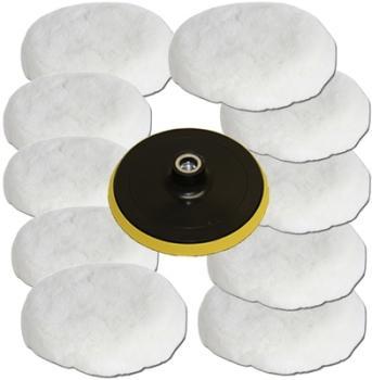 10 Peaux de polissage disque
