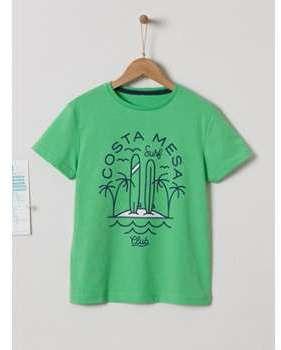 T-shirt fantaisie garçon vert