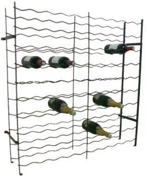 Casier métallique à bouteilles