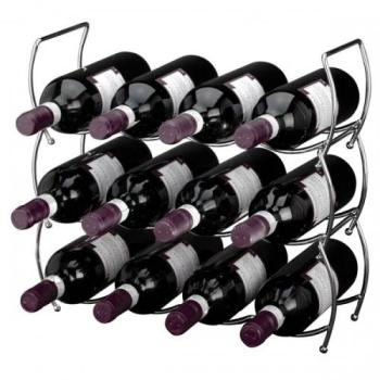 Range bouteilles à vin empilable