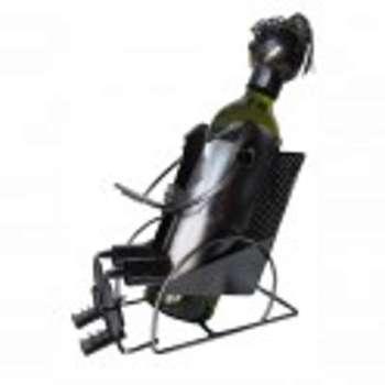 Porte bouteilles rocking chair