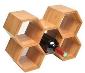 Porte bouteille en bambou