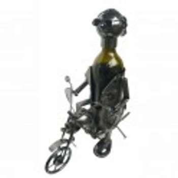Porte bouteilles motard