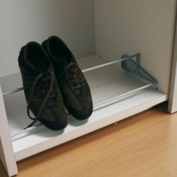 Porte-chaussures fixe ajustable