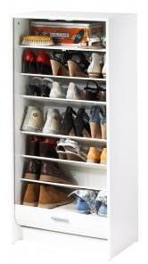 Meuble à Chaussures Blanc