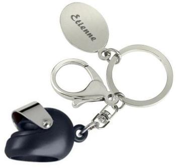 Porte-clés casque de moto