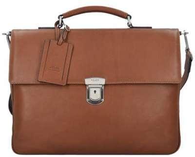 Serviette Burkely Vintage Scott 37 cm Cognac marron t51CvYw8u